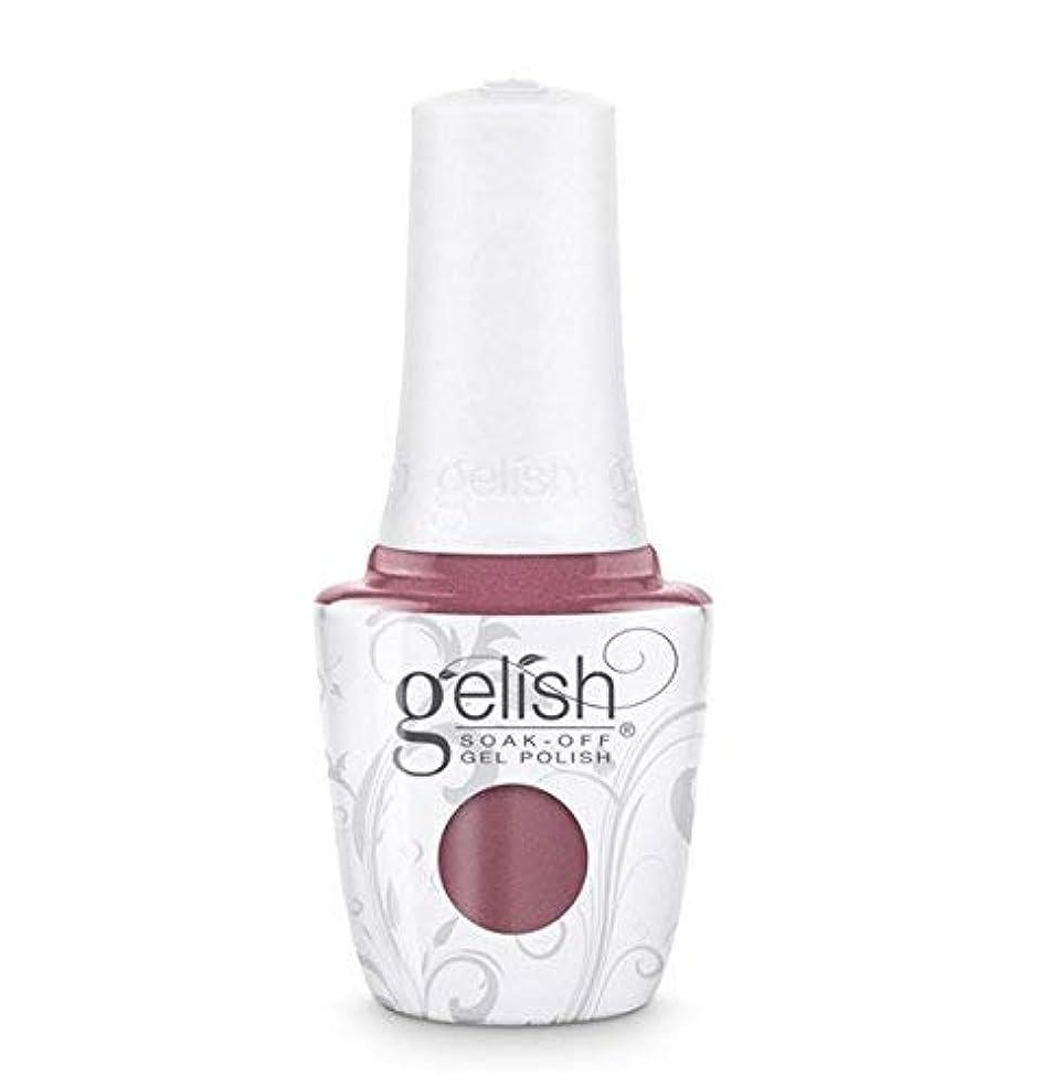 不潔岩魅力Gelish Soak-Off Gel - African Safari Collection - No Sudden Mauves - 15 ml/05 oz