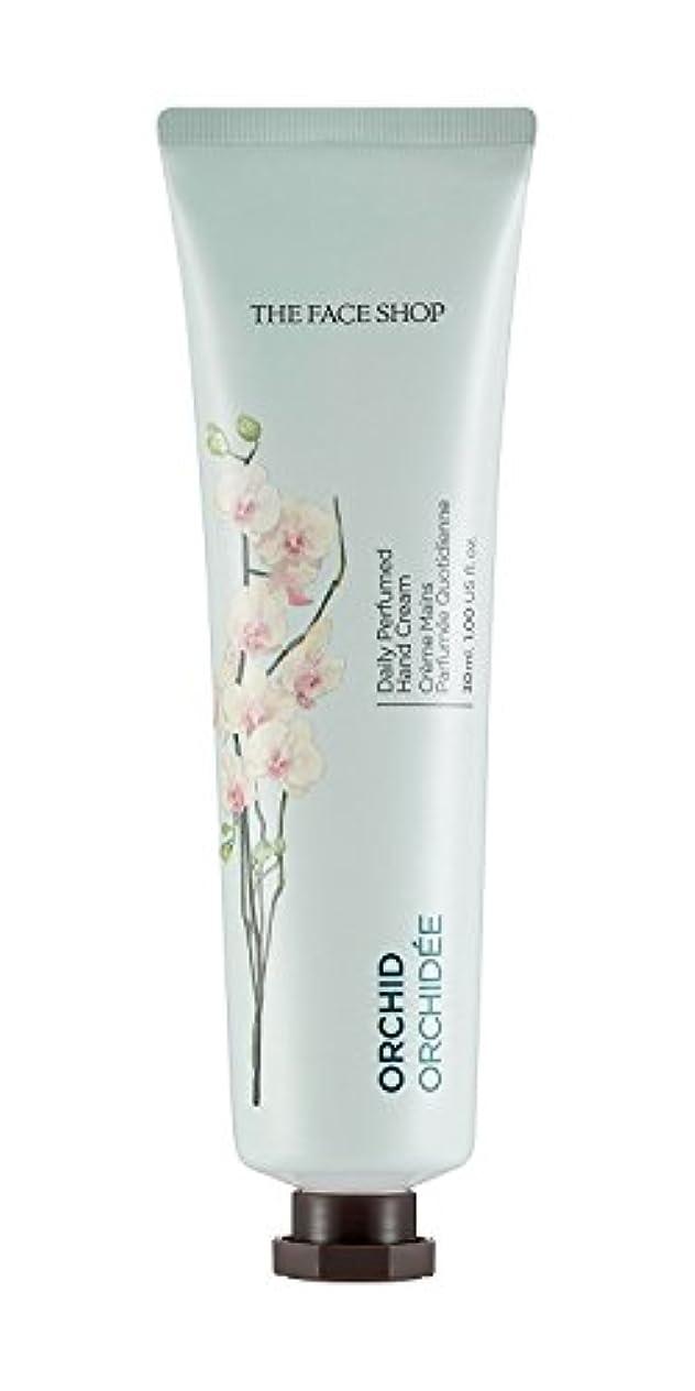 ピボット滑りやすい五月[1+1] THE FACE SHOP Daily Perfume Hand Cream [09. Orchid] ザフェイスショップ デイリーパフュームハンドクリーム [09.オーキッド] [new] [並行輸入品]