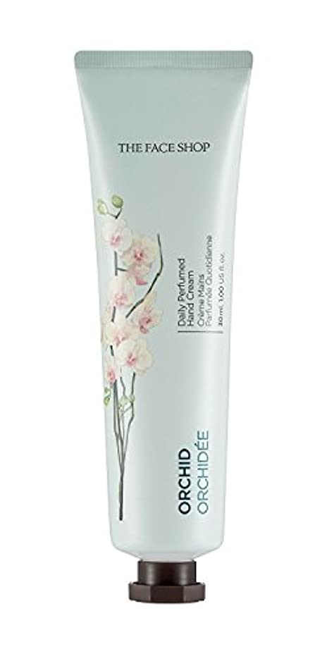 擁するとティーム液化する[1+1] THE FACE SHOP Daily Perfume Hand Cream [09. Orchid] ザフェイスショップ デイリーパフュームハンドクリーム [09.オーキッド] [new] [並行輸入品]