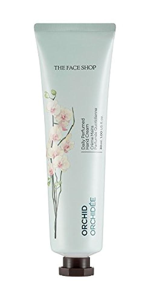 うなずく捨てる本物の[1+1] THE FACE SHOP Daily Perfume Hand Cream [09. Orchid] ザフェイスショップ デイリーパフュームハンドクリーム [09.オーキッド] [new] [並行輸入品]