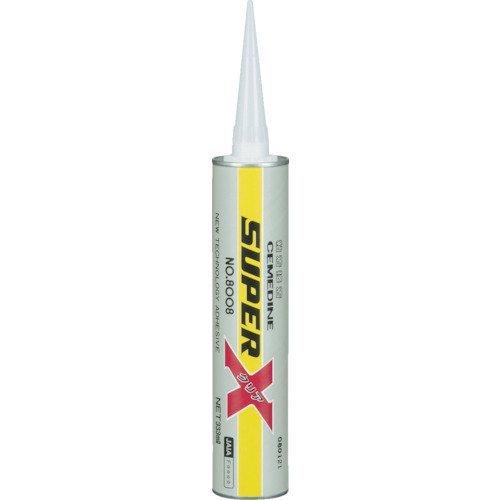 セメダイン スーパーX8008クリア 333ml AX-141