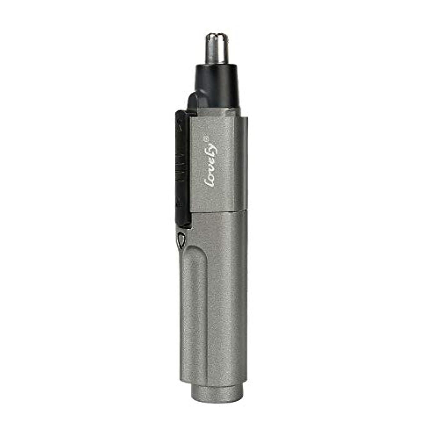 エンジニア無人引き渡す鼻毛カッター鼻毛トリマー環境にやさしい腹筋材料三次元アーチカッターヘッド乾電池のデザインは、男性と女性に適した適切なスイッチを発売