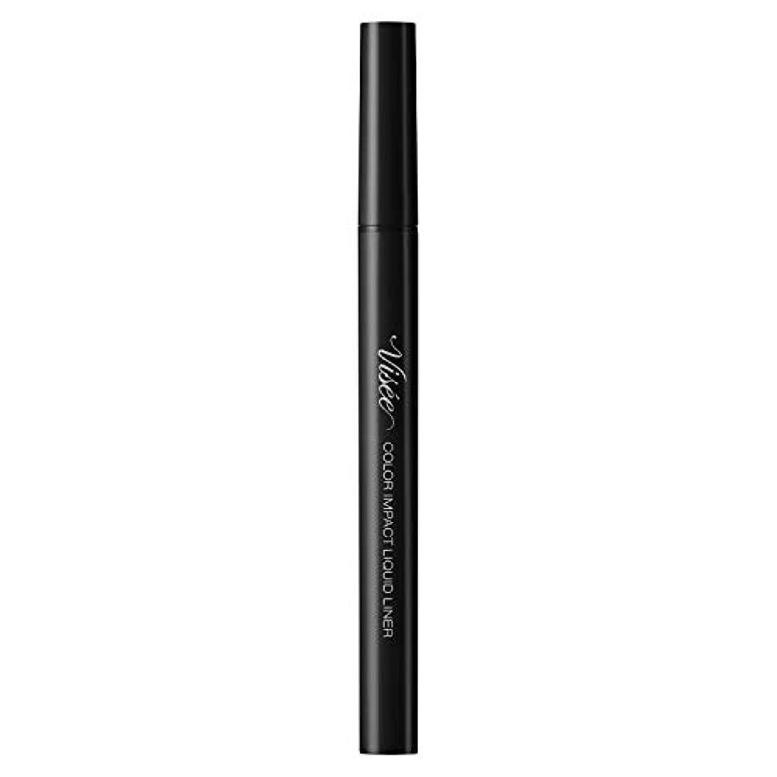 ブームほうき自発的ヴィセ リシェ カラーインパクト リキッドライナー ブラック BK001 0.4mL