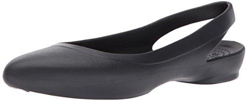 [해외][악어] 플랫 슈즈 이브 슬링 백 위멘/[Crocs] Flat Shoes Eve Slingback Women