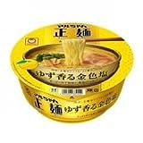 マルちゃん 正麺カップ ゆず香る金色塩 1箱(12入)