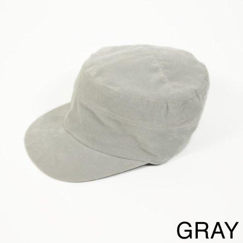 帽子/メンズ/レディース/スウェードワークキャップ[アーミー レールキャップ サマー amazon 通販]|グレー |icap0017-gy