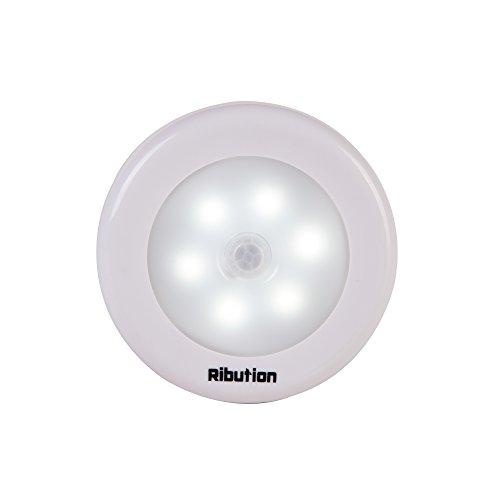 Ribution LEDセンサーライト ナイトライト 夜間ライト 電池式人感センサーライト マグネッ...