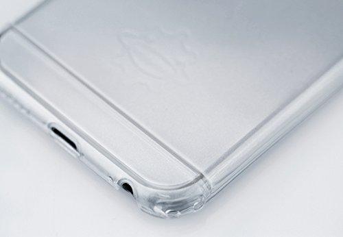 【日本正規代理店品】TUNEWEAR eggshell for iPhone 6 Plus (5.5インチ) クリスタルクリア TUN-PH-000325