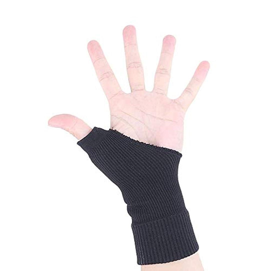 乞食カートン解説指の怪我のサポート、可動式のまっすぐな手の保護スリーブ、手首のサポート、親指穴付きスプリントラップ