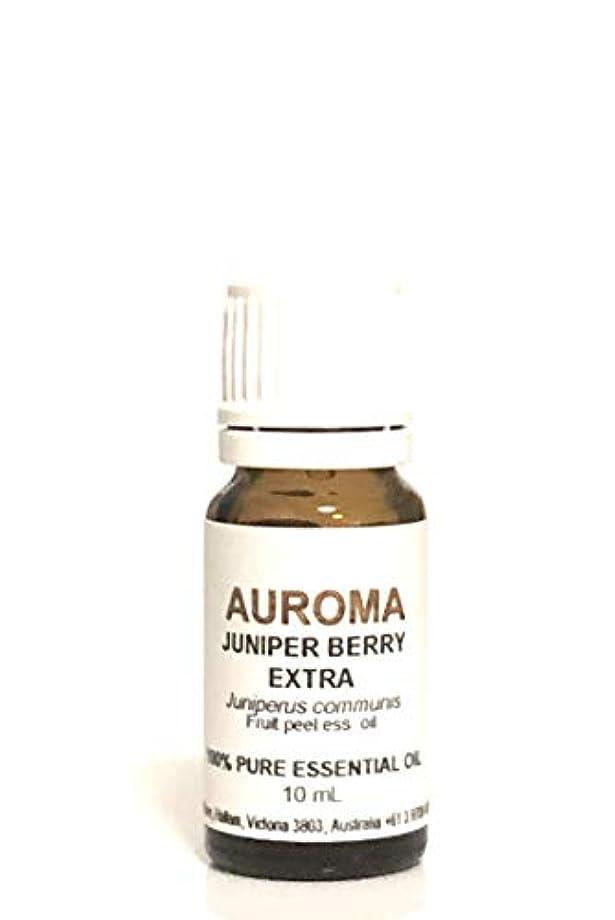 苗技術的な証書AUROMA ジュニパーベリー エクストラ 10ml
