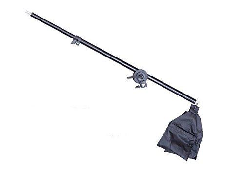ASHANKS 撮影照明用ブームアーム ソフトボックスに適応するスタンドアーム(76-142cm)