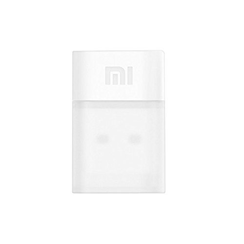 Original Xiaomi Portable 150Mbps Mini USB Wireless Router Wifi Adapter WI-FI Emitter Internet Adapter - White [並行輸入品]