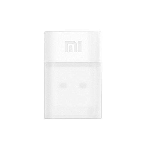 Original Xiaomi Portable 150Mbps Mini USB Wireless Router Wifi Adapter WI-FI Emitter Internet Adapter - White [並行輸入品]