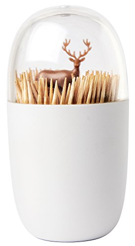 RoomClip商品情報 - QUALY 爪楊枝入れ Toothpick Holder Deer Meadow (草原に佇むシカ) 521706900