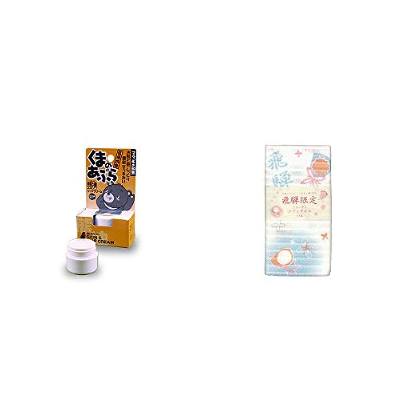 明るくするミシンエンドテーブル[2点セット] 信州木曽 くまのあぶら 熊油スキン&リップクリーム(9g)?(飛騨限定)さるぼぼ コラーゲンボディタオル【白】(綿100%)