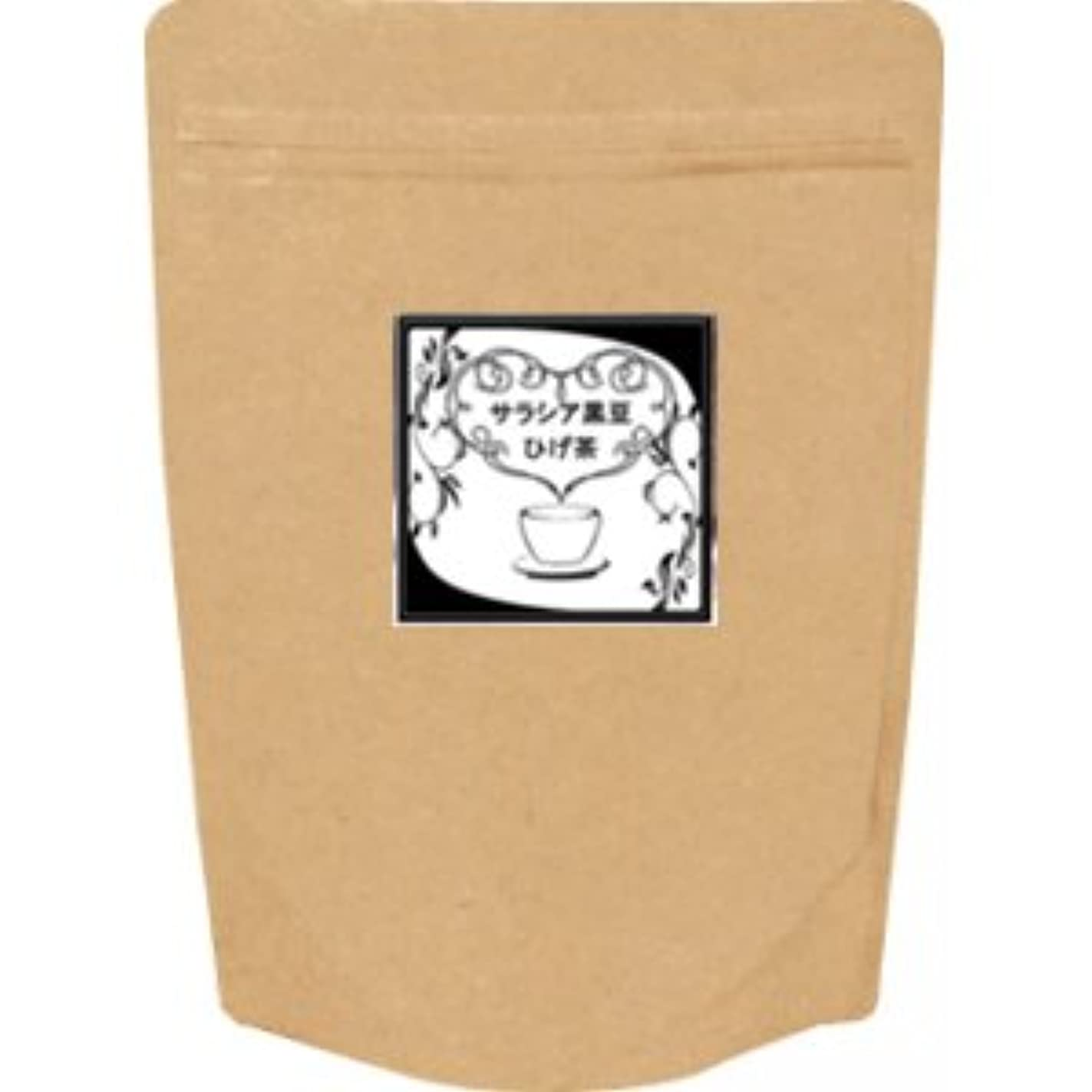 トランペットあざマイルストーン【抗糖花】サラシア黒豆ひげ茶(お徳用ティーバッグ100ヶ)