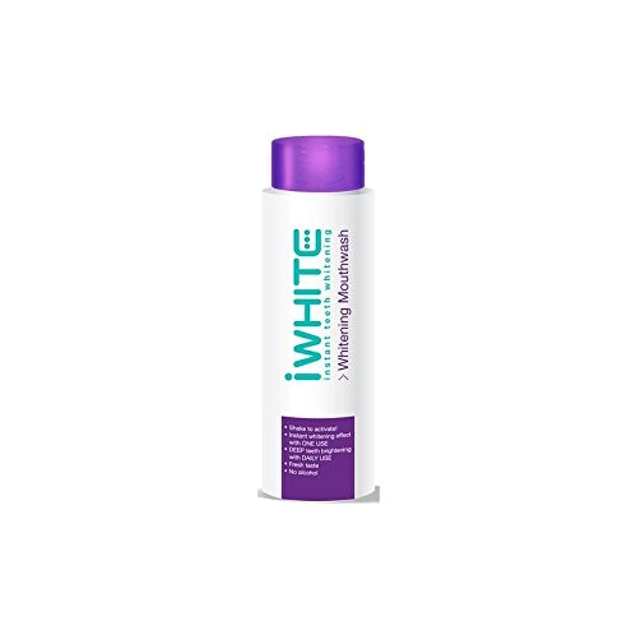 無かび臭い多様体iWhite Instant Teeth Whitening Mouthwash (500ml) - うがい薬を白くインスタント歯(500ミリリットル) [並行輸入品]