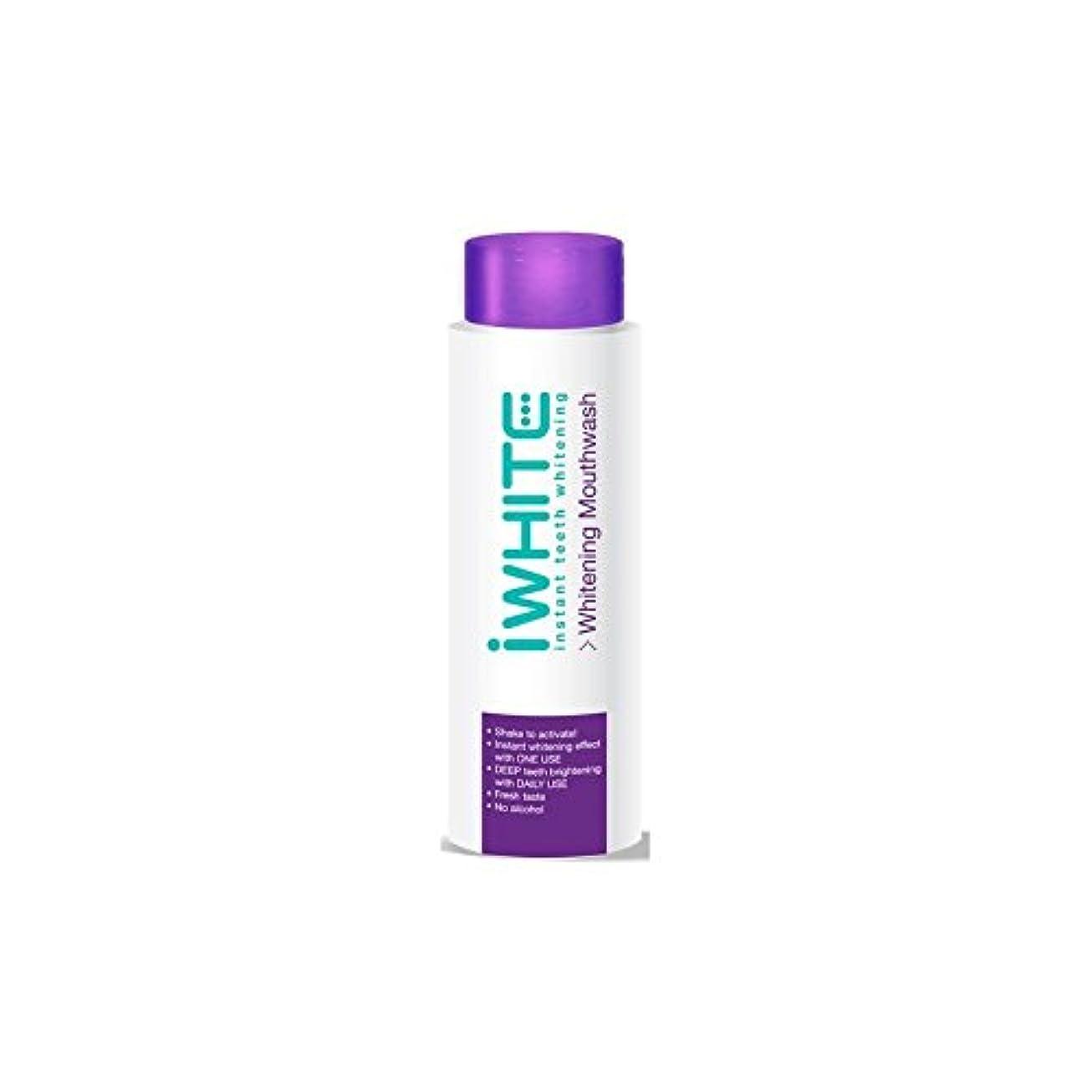 iWhite Instant Teeth Whitening Mouthwash (500ml) (Pack of 6) - うがい薬を白くインスタント歯(500ミリリットル) x6 [並行輸入品]