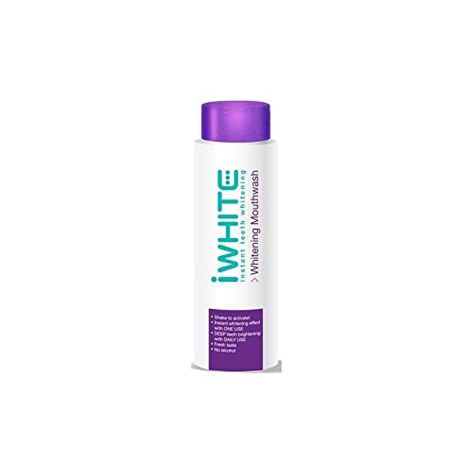 シャワー独立いくつかのうがい薬を白くインスタント歯(500ミリリットル) x4 - iWhite Instant Teeth Whitening Mouthwash (500ml) (Pack of 4) [並行輸入品]