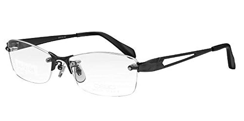 ホイットニー蛾コーナー鯖江ワークス(SABAE WORKS) 老眼鏡 ブルーカット ふちなし グレー SS2106C2 +2.50