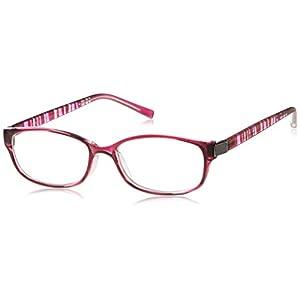 機能老眼鏡 上平累進老眼鏡 IE-003 PUR(パープル) +1.00(05IE03PU-10)