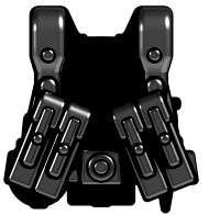 Brickarms Combatベストww2Germanレンジャー2.5インチ[ブラック]