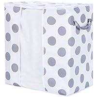 スウィフトグッド通気性のある目に見える不織布オーガナイザー家庭用収納袋収納衣類分冊キルトバッグ衣類ブランケット用スペースセーバー