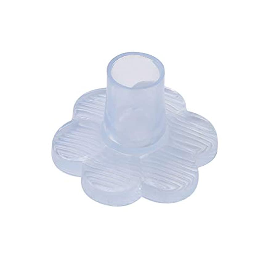 呼吸する同一のカフェテリアMODMHB ヒールキャップ 5ペアセット 透明PVC製 ハイヒール/ダンスシューズ用 ヒール保護 ヒールプロテクター 滑り止め ヒール傷防止,10-11mm直径