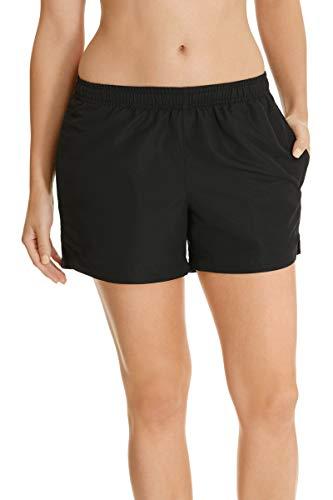 Champion Women's Clothing Infinity Microfibre Short, Black, 16