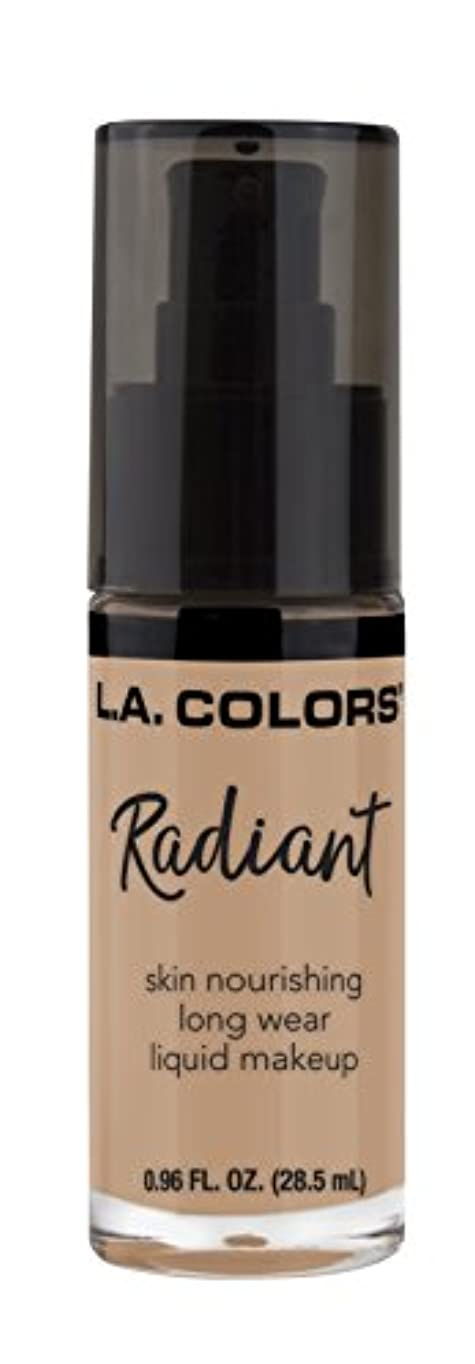 博物館遡る満了L.A. COLORS Radiant Liquid Makeup - Medium Tan (並行輸入品)