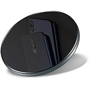 Qi ワイヤレス充電器 Quick Charge Bigbull 急速充電 ワイヤレスチャージャー 置くだけ充電 Qi認証済み 5W / 7.5W / 10W 無線充電器 iPhone X / 8/8 Plus/Xs/Xs Max/XR、GalaxyS9 / S9+ / S8 / S8+など、その他Qi対応機種 各種対応