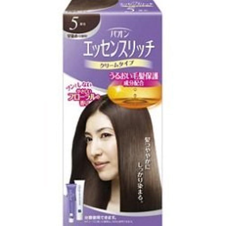 【シュワルツコフヘンケル】パオン エッセンスリッチ クリームタイプ 5 栗色 ×20個セット