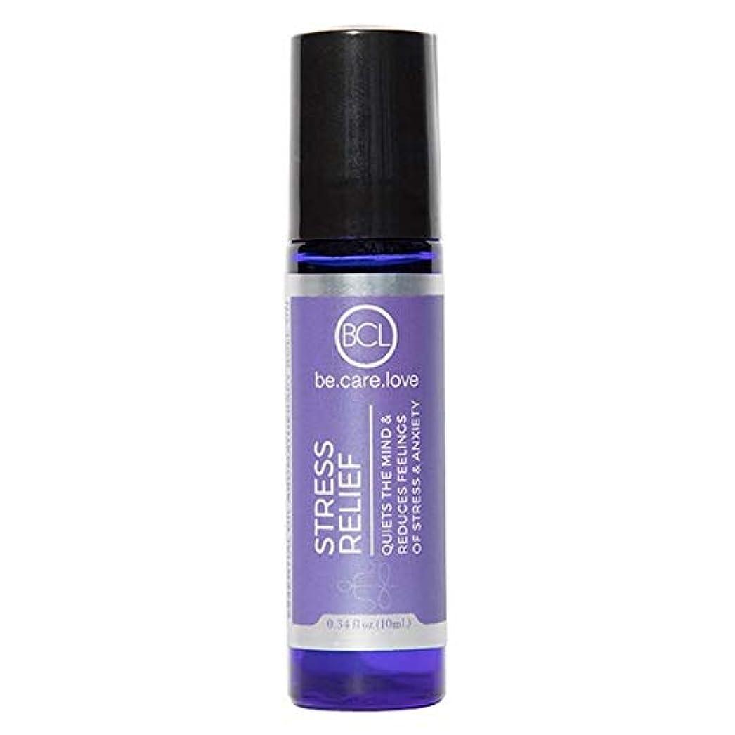 焦がすエキゾチックスラッシュ[Be Care Love Naturals ] ケア愛のナチュラルなる救済エッセンシャルオイルロールオンを強調 - Be Care Love Naturals Stress Relief Essential Oil Roll-on...