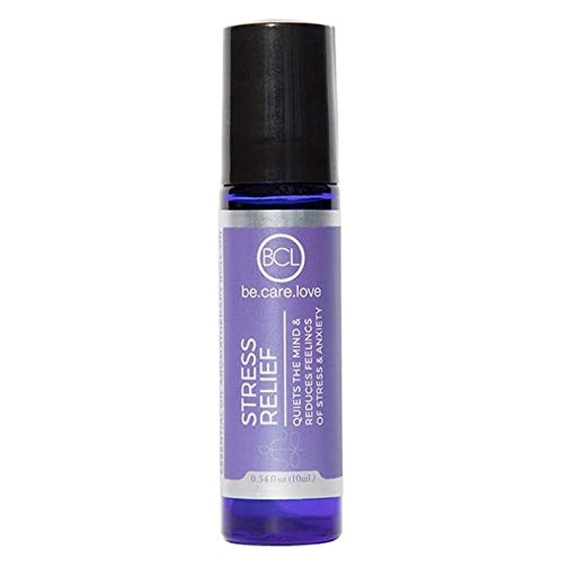 用心新鮮な主導権[Be Care Love Naturals ] ケア愛のナチュラルなる救済エッセンシャルオイルロールオンを強調 - Be Care Love Naturals Stress Relief Essential Oil Roll-on...