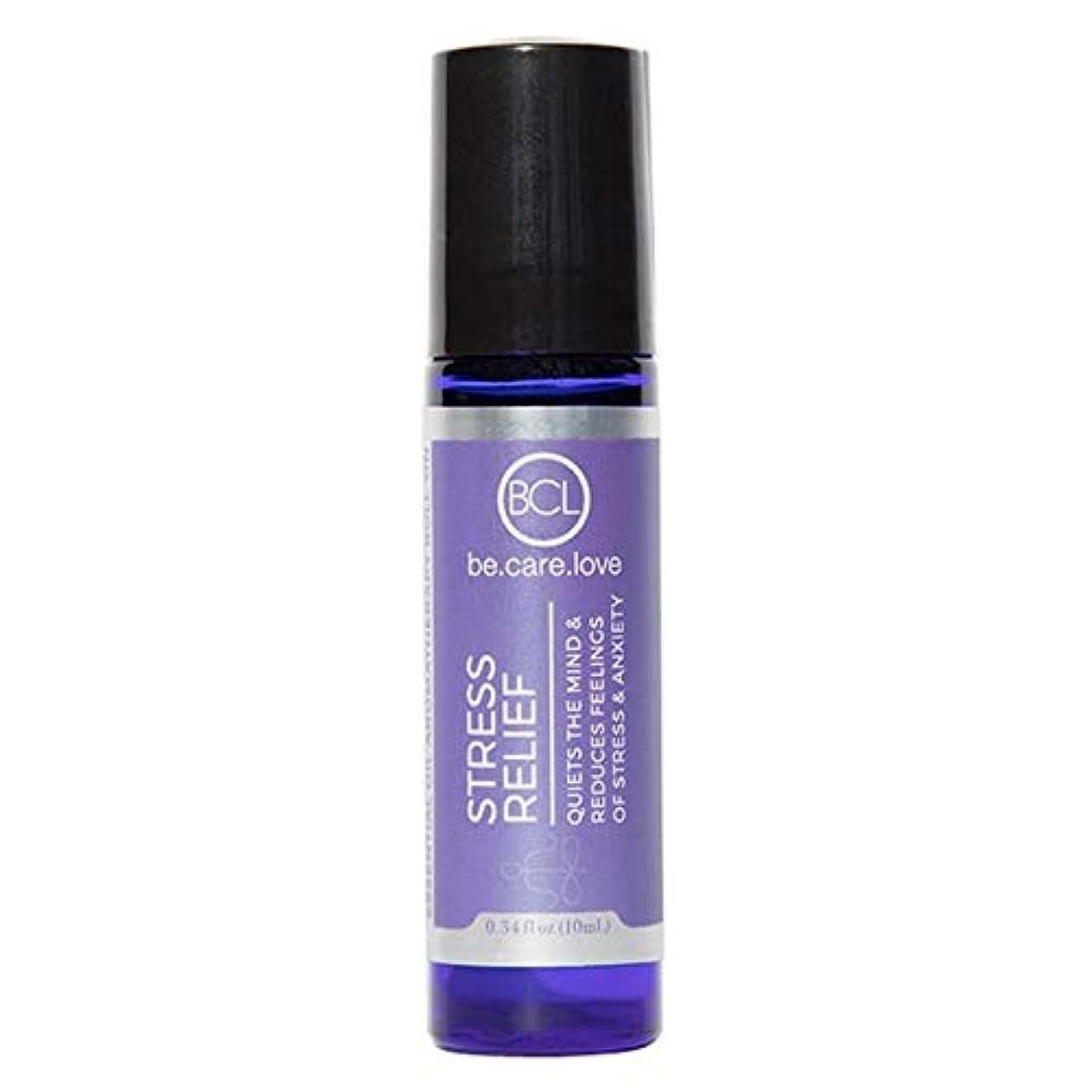 糞あえてごみ[Be Care Love Naturals ] ケア愛のナチュラルなる救済エッセンシャルオイルロールオンを強調 - Be Care Love Naturals Stress Relief Essential Oil Roll-on...