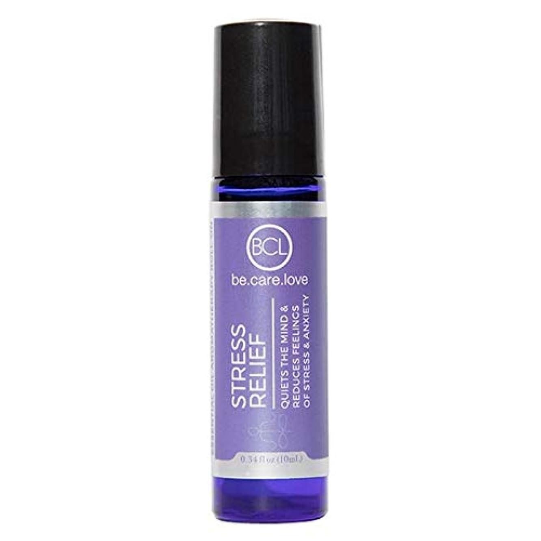 胸楽しませる保護[Be Care Love Naturals ] ケア愛のナチュラルなる救済エッセンシャルオイルロールオンを強調 - Be Care Love Naturals Stress Relief Essential Oil Roll-on...