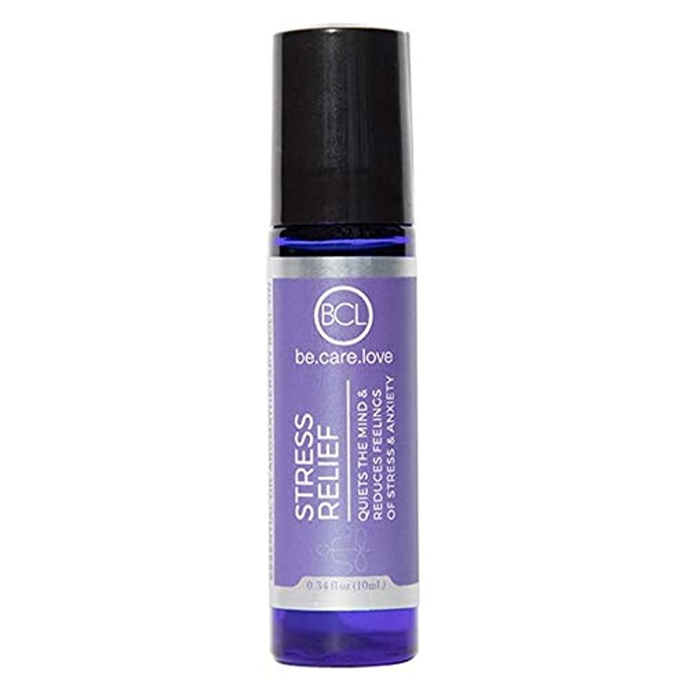 [Be Care Love Naturals ] ケア愛のナチュラルなる救済エッセンシャルオイルロールオンを強調 - Be Care Love Naturals Stress Relief Essential Oil Roll-on...