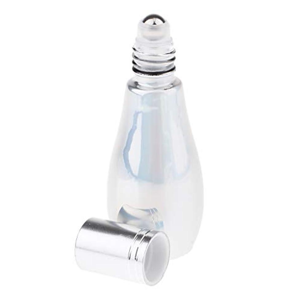 T TOOYFUL 香水 ロールオン アトマイザー 小分けボトル 香水ボトル ローラーボール ガラス 全2タイプ - ローラー