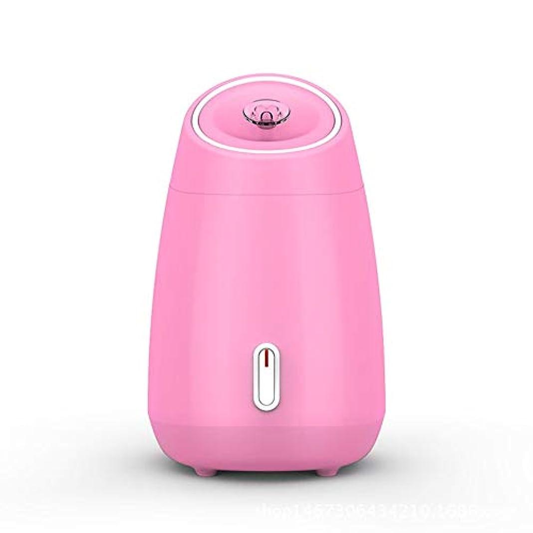特許不安現実にはZXF 加湿美容機器フルーツと野菜の蒸し顔ホットスプレーホーム美容機器2ピンクモデルホワイトを白くするナノスプレー水道メーター顔 滑らかである (色 : Pink)