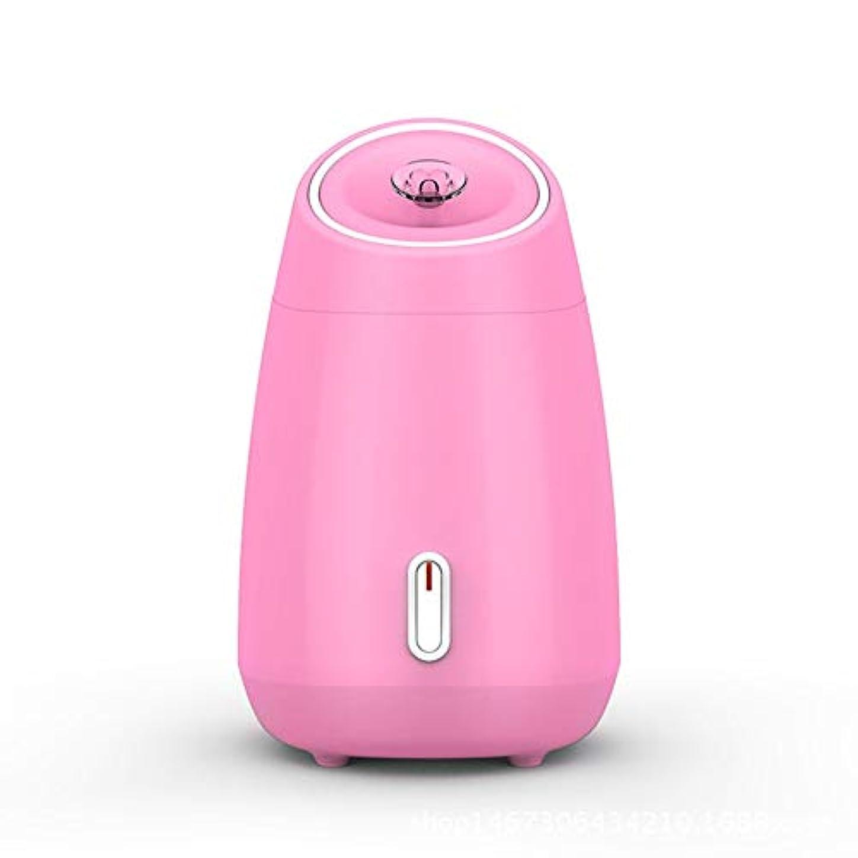 超越する最少のスコアZXF 加湿美容機器フルーツと野菜の蒸し顔ホットスプレーホーム美容機器2ピンクモデルホワイトを白くするナノスプレー水道メーター顔 滑らかである (色 : Pink)