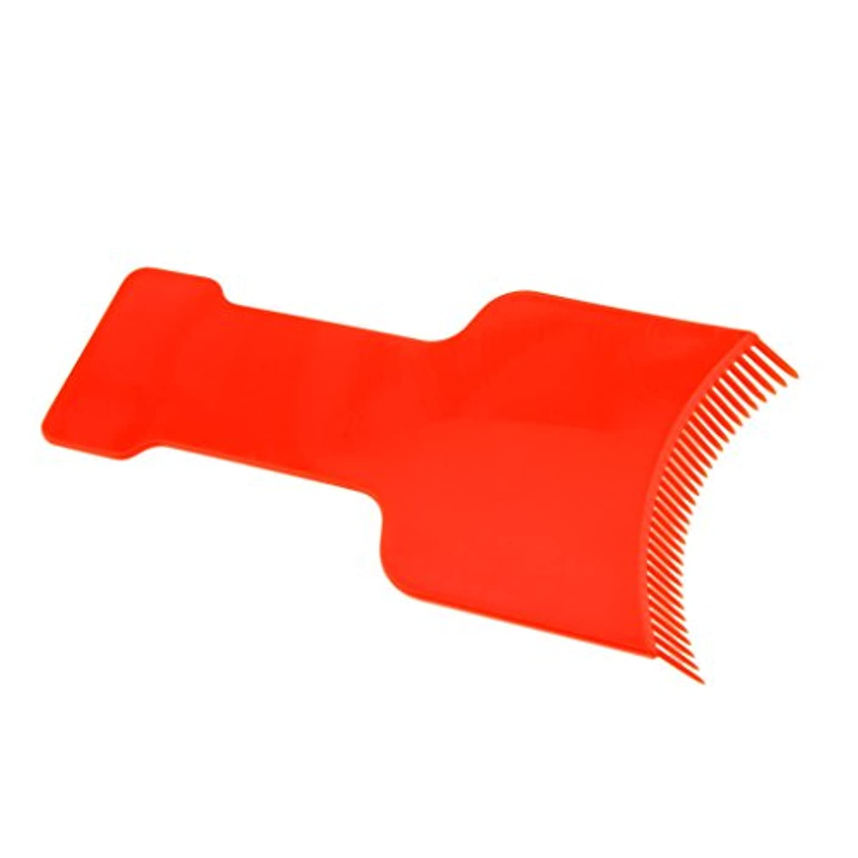脆い顕微鏡嵐染色プレート 染色櫛 ヘアカラーボード ヘアカラー ボード ヘアカラーティントプレート サロン 美容 自宅用 便利