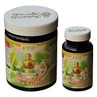 """MAHARISHI AMRIT KALASH MAK 4 & 5 Combo Pack - """"Sugar Free"""" Nectar Tablets 1000mg - 60 Tablets + Ambrosia 500mg 60 Tablets by Maharishi Ayurveda [並行輸入品]"""