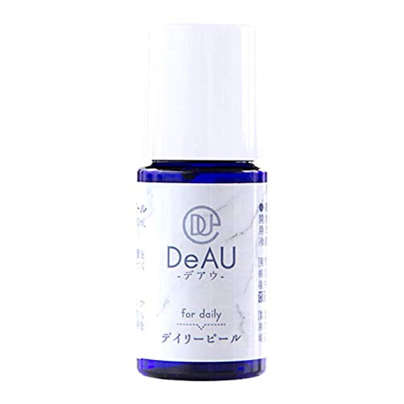 チチカカ湖傷つきやすい食用DeAU デアウ デイリーピール ミニ 角質柔軟美容液 10mL