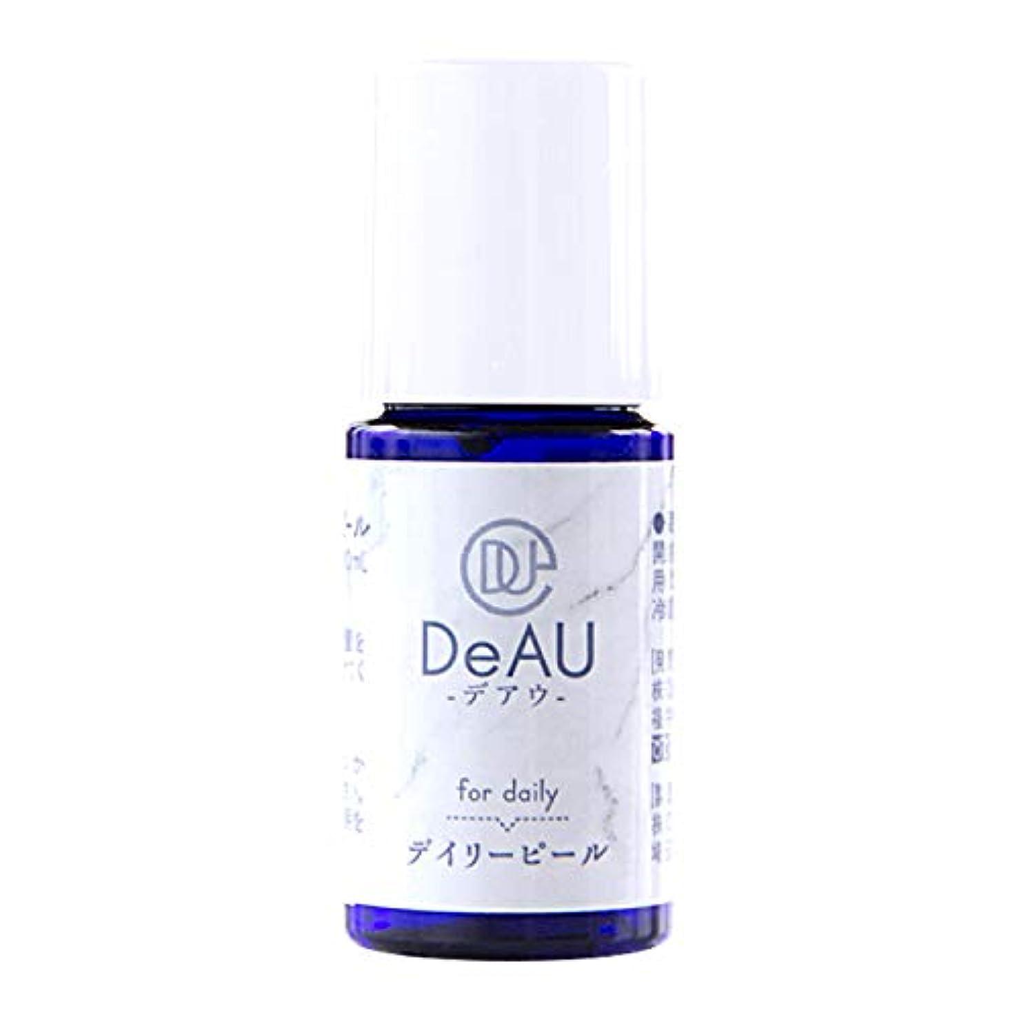 有効化厄介な日付付きDeAU デアウ デイリーピール ミニ 角質柔軟美容液 10mL