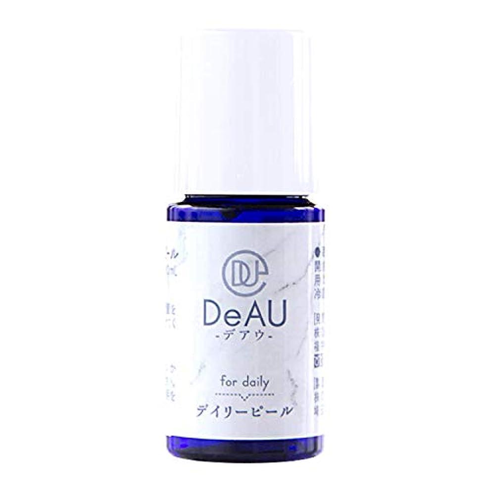 内なる出くわす保守可能DeAU デアウ デイリーピール ミニ 角質柔軟美容液 10mL