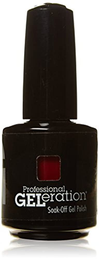 スーパー五月予定ジェレレーションカラー GELERATION COLOURS 290 C マーロット 15ml UV/LED対応 ソークオフジェル