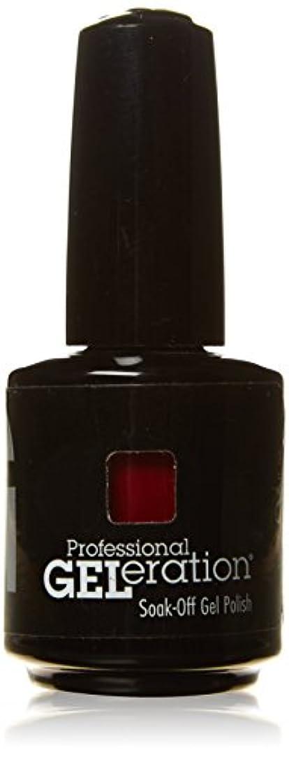 角度裏切り者サリージェレレーションカラー GELERATION COLOURS 290 C マーロット 15ml UV/LED対応 ソークオフジェル
