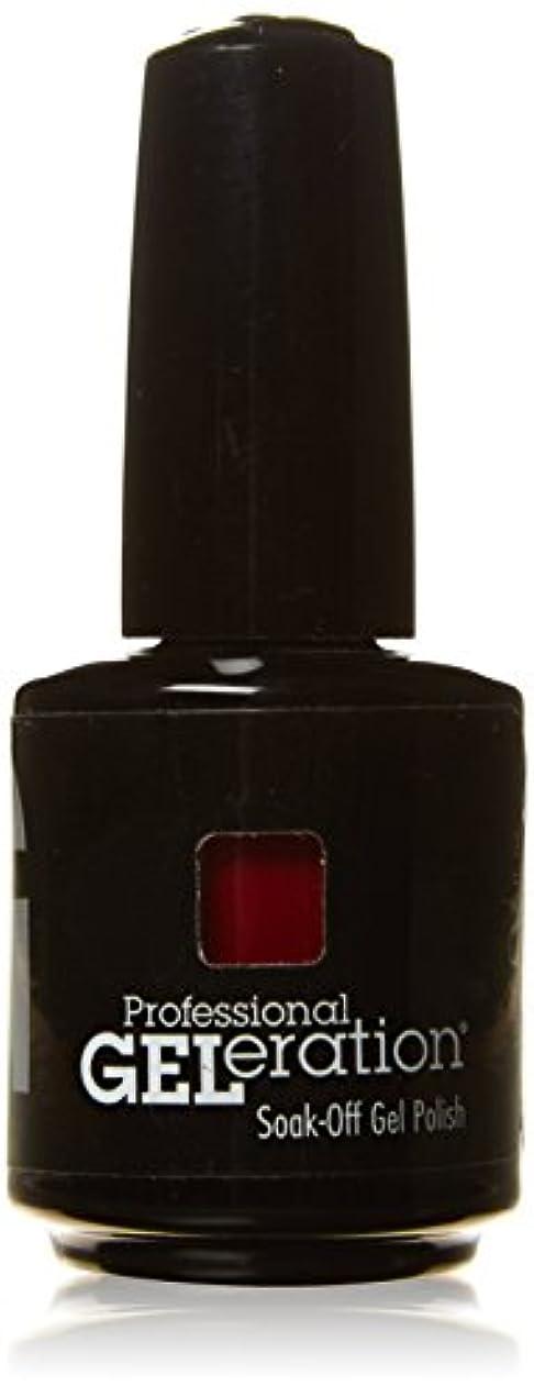 城涙が出る黒板ジェレレーションカラー GELERATION COLOURS 290 C マーロット 15ml UV/LED対応 ソークオフジェル
