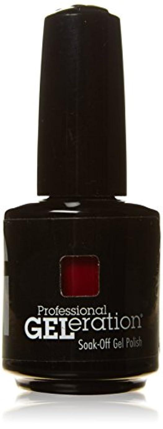 ウェイトレス拒絶する執着ジェレレーションカラー GELERATION COLOURS 290 C マーロット 15ml UV/LED対応 ソークオフジェル