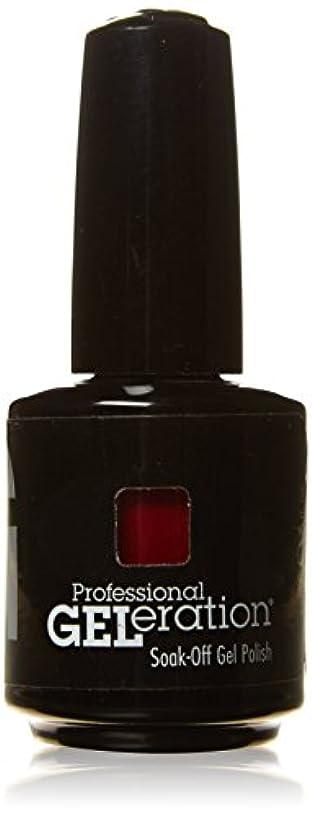 キリストオフセット森ジェレレーションカラー GELERATION COLOURS 290 C マーロット 15ml UV/LED対応 ソークオフジェル